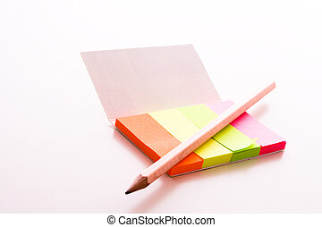 post-it with pen