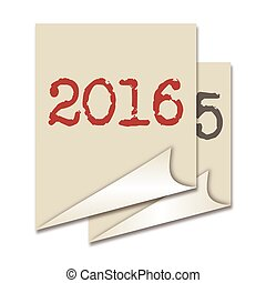 New Year 2016 - Post it with the arrival of the New Year...