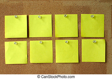 post-its, vuoto