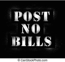 Post no bills.eps