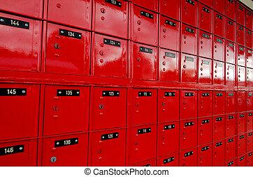 post-office, κουτί