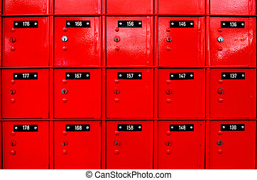 Post-office box - AUCKLAND, NZ - MAY 29:Seet sign of Queen...