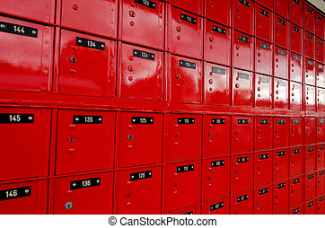 post-office, scatola