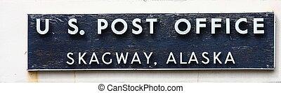 Post Office Skagway Alaska