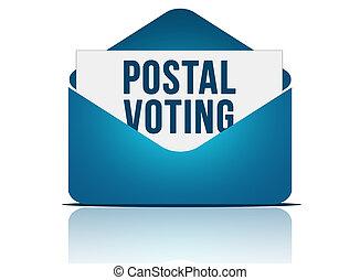 post, omröstning
