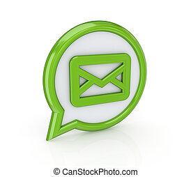 post, pictogram