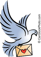 Post pigeon.