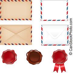 post, sätta