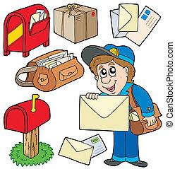 post, samling