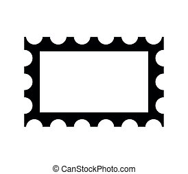 Post stamp frame