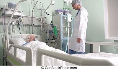 post-surgery, patient