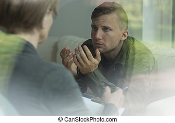 Post traumatic stress disorder - Psychological therapy of...