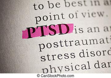 post, traumatisch, stress, stoornis
