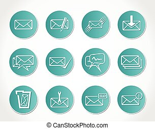posta, icone