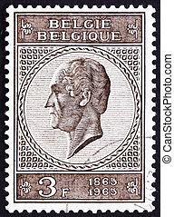 Postage stamp Belgium 1965 Leopold I, King of the Belgians