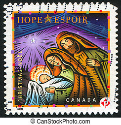 postage stamp - CANADA - CIRCA 2007: stamp printed by...