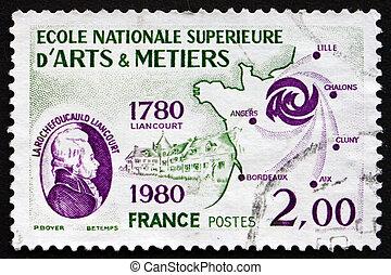 Postage stamp France 1980 Larochefoucauld Liancourt - FRANCE...
