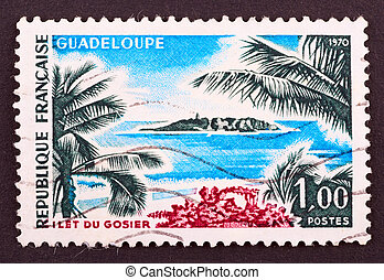 Postage Stamp - FRANCE - CIRCA 1970: stamp printed by France...