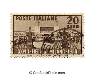 Postage stamp from Italy