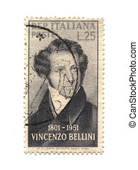 Postage stamp from Italy dated 1951
