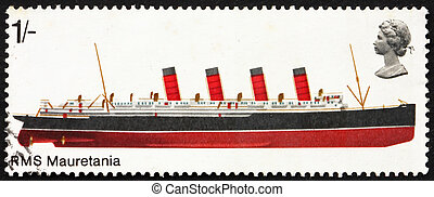Postage stamp GB 1969 R.M.S. Mauretania, British Ship