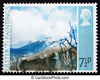 Postage stamp GB 1971 Deer?s Meadow, by Thomas Carr - GREAT ...