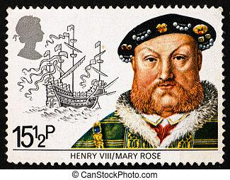 Postage stamp GB 1982 King Henry VIII