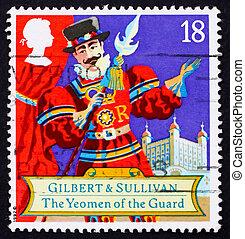 Postage stamp GB 1992 Scene from comic opera