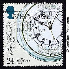 Postage stamp GB 1993 Marine Chronometer - GREAT BRITAIN -...