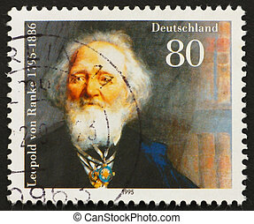 Postage stamp Germany 1995 Leopold von Ranke - GERMANY - ...
