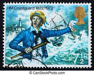 Postage stamp GREAT BRITAIN 1972 Coast guard
