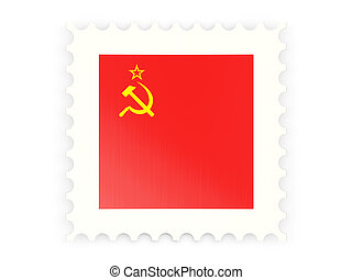 Postage stamp icon of ussr