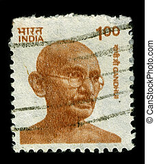 Postage stamp. - INDIA-CIRCA 1991:A stamp printed in INDIA...