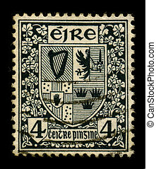 Postage stamp. - IRELAND-CIRCA 1960:A stamp printed in...