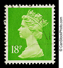 Postage Stamp - UNITED KINGDOM - CIRCA 1971 to 1996: An...