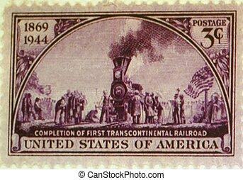 POSTAGE STAMP, UNITED STATES. - a 1944 United States postage...