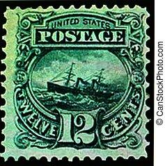 POSTAGE STAMP, U.S 1869