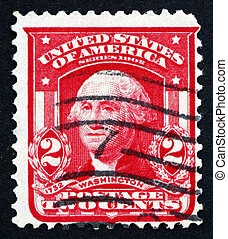 Postage stamp USA 1903 George Washington
