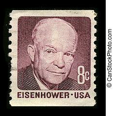 Postage stamp. - USA - CIRCA 1930: A stamp printed in USA...