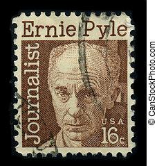 Postage stamp. - USA - CIRCA 1970: A stamp shows image ...
