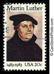 Postage stamp. - USA - CIRCA 1983: A stamp printed in USA...