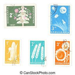 postaköltség, collectible, topog, bulgária