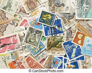postaköltség, stamps.