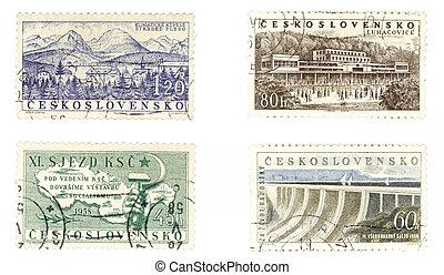 postaköltség, szüret, topog, csehszlovákia