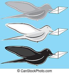 postal bird
