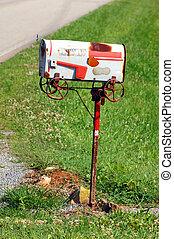 Postal Customers - Roadside mailbox needs some updating....
