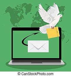 postal dove, email marketing