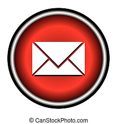 postal envelope sign. e-mail symbol