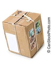 postal, pacote
