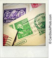 Postal still life